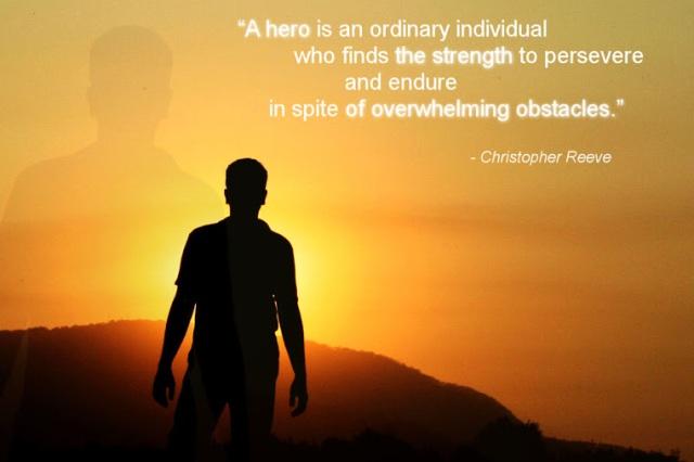 A Hero...